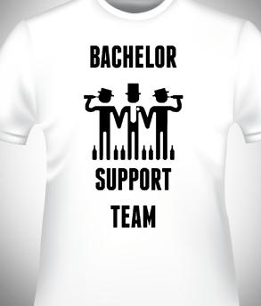 חולצה מודפסת למסיבת רווקים
