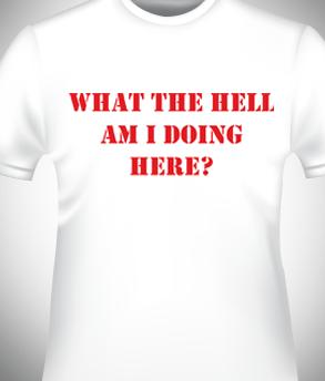 הדפס על חולצה להפגנה